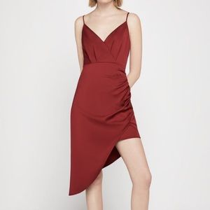Sleeveless Asymmetrical Cami Dress